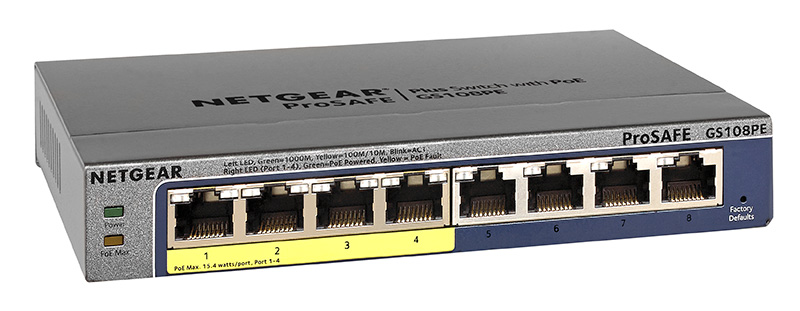 Unboxing the Netgear GS108PE PoE Network Switch