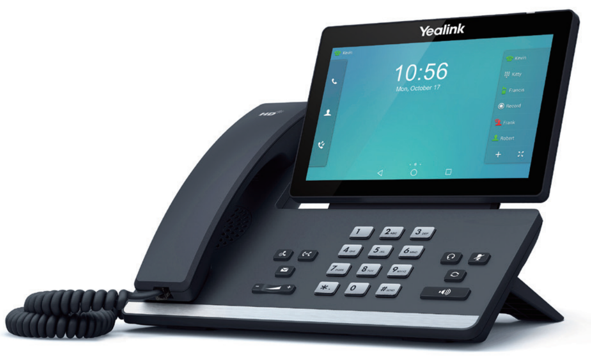 yealink just released their 7 multi touch android desk video phone and its incredible helia. Black Bedroom Furniture Sets. Home Design Ideas