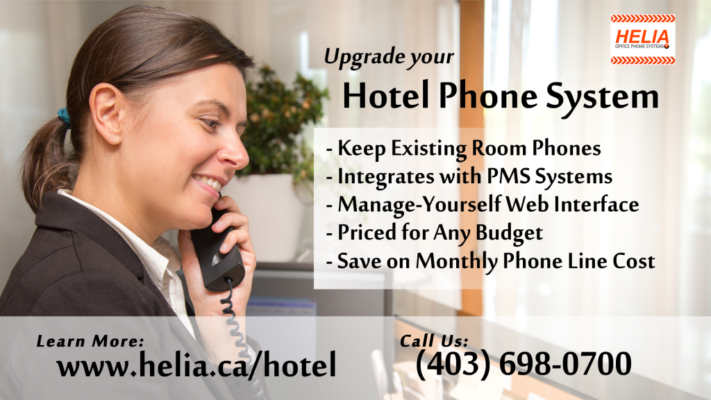 Hotel Phone System for Western Canada