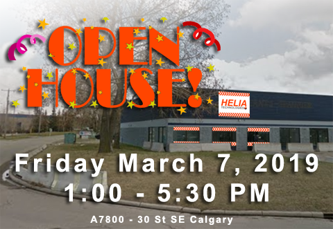 Helia Open House February 7, 2019