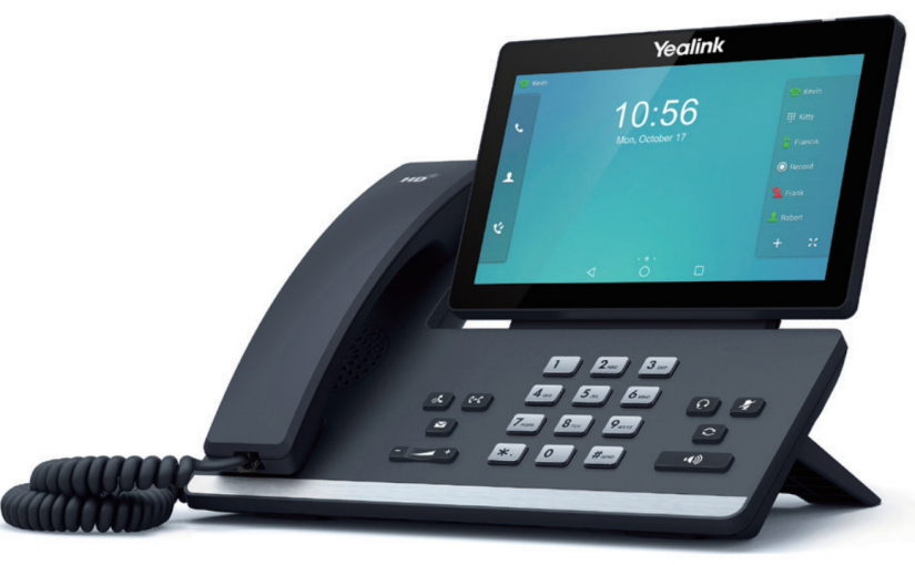 Yealink just released their 7″ multi-touch Android desk video phone and its incredible.