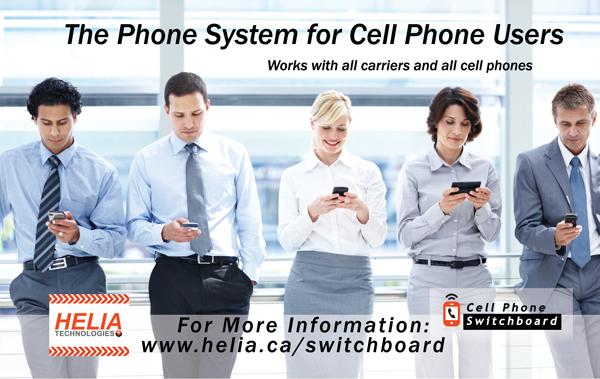 Cell Phone Switchboard – The Phone System for Companies with Cell Phones