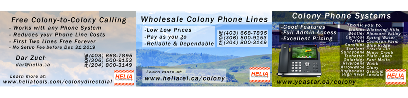 Providing Wholesale Phone Lines, Phone Systems and Colony Direct Dial since 2014