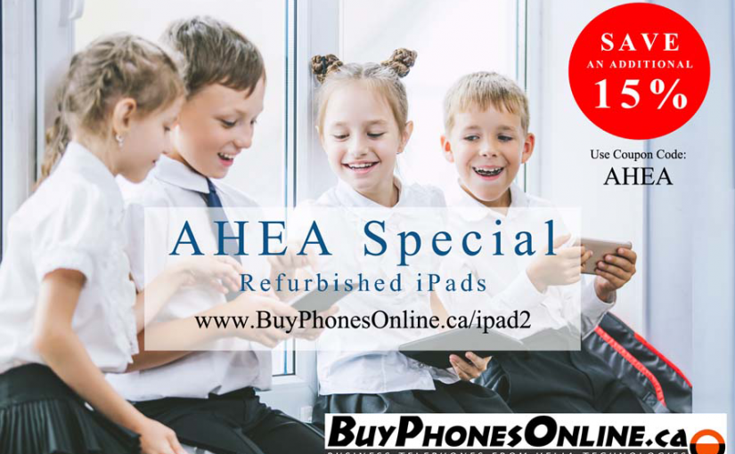 Refurbished iPads for Home Schoolers